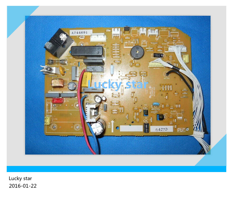 95% new for panasonic Air conditioning computer board circuit board A744691 good working 95% new for haier refrigerator computer board circuit board bcd 198k 0064000619 driver board good working