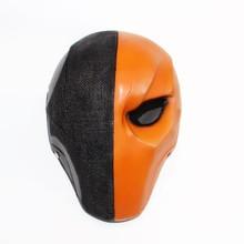 Deattemke capacete para cosplay, capacete de fantasia de rosto inteiro, para halloween, com resina, adereços para capacete