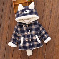 Spring Autumn Hooded Jackets for Newborn Baby Boy Warm Outerwear Fashion Child Clothes Pocket Clothing Infant Baby Coats 6 24M