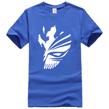 BLEACH Kurosaki Ichigo cartoon pattern Women/men's T-shirts (21 colors))