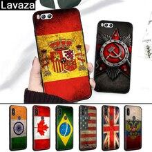 цены на Lavaza Country America Canada Brazil Russia Flag Silicone Case for Xiaomi MI 6 8 9 SE Max 3 Lite F1 A1 A2 Mix 2S A3 Pro 9T CC9  в интернет-магазинах
