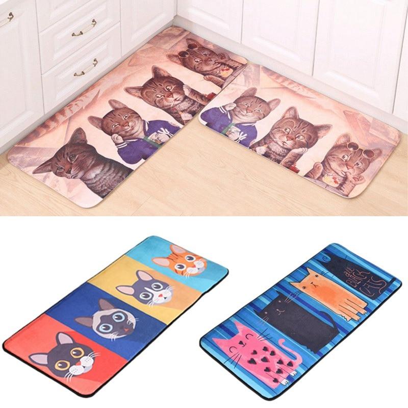 Cat Floor Mat Door Mat Anti-Slip