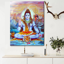 Diy Diamond Painting Indian god Cross Stitch Kits Full square 5d Embroidery Mosaic Home Decor Y1954