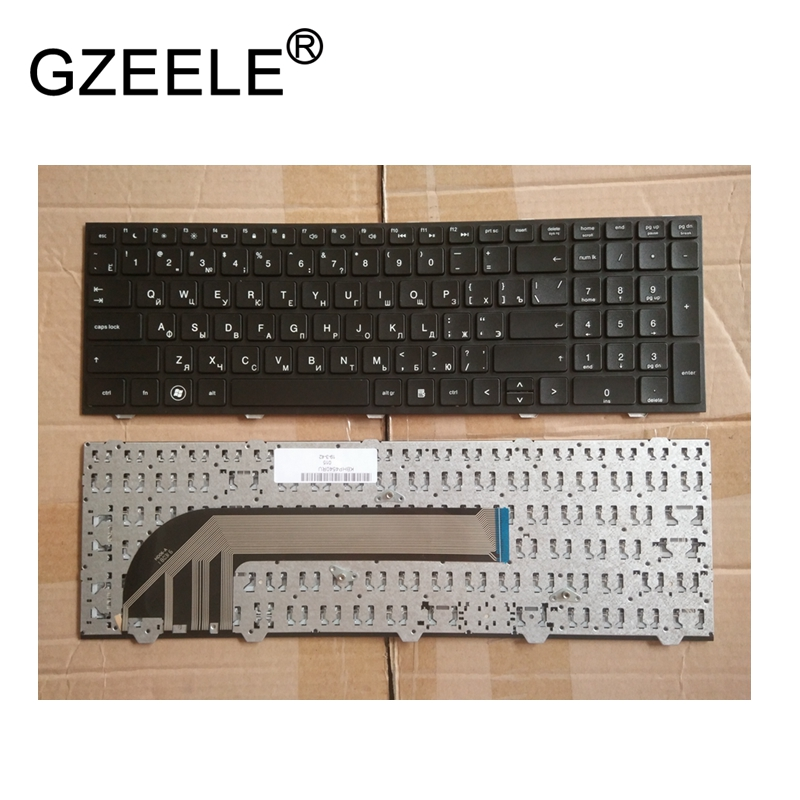 GZEELE Russian laptop Keyboard for HP probook 4540 4540S 4545 4545S 4740 4740S RU Laptop Keyboard with frame High-quality NEW new for hp 625 cq625 620 cq620 621 cq621 15 6 ru keyboard laptop keyboard russian k2132