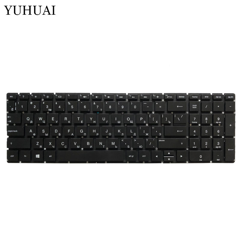 Image 2 - New RU Laptop keyboard For HP TPN C126 TPN C125 HQ TRE no Frame Teclado Russian Keyboard-in Replacement Keyboards from Computer & Office on
