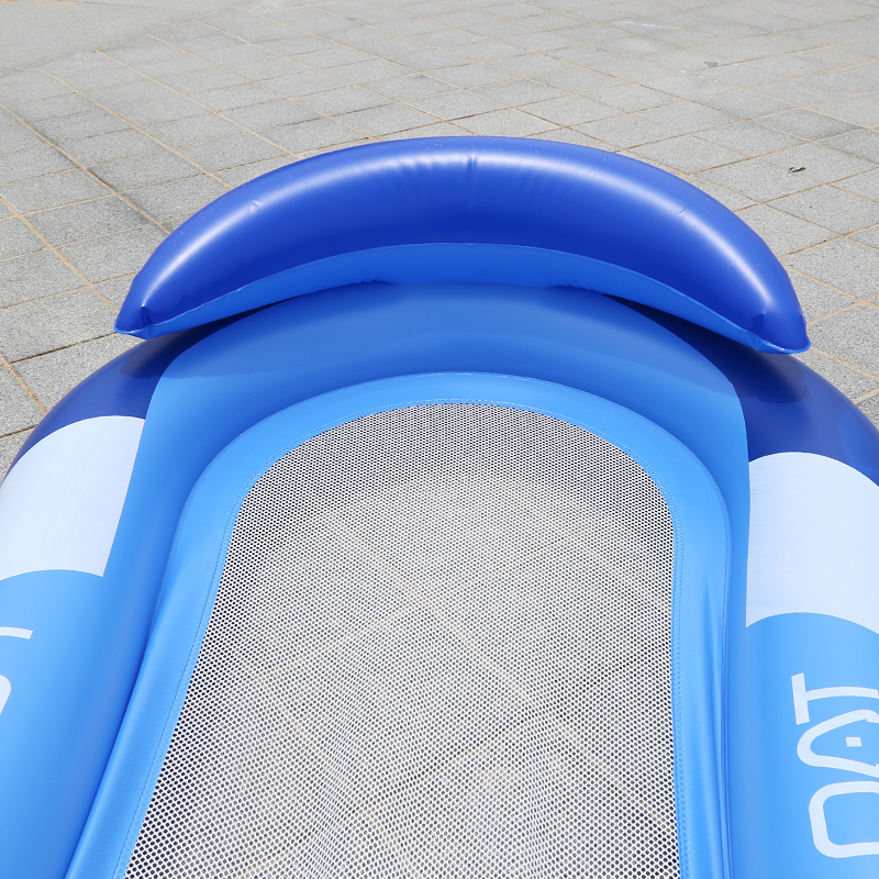 160cm Giant Water Hammock Inflatable Pool Float Adult Women Men Mesh Swimming Ring Beach Lounger Water Toy Floating Air Mattress in Swimming Rings from Sports Entertainment