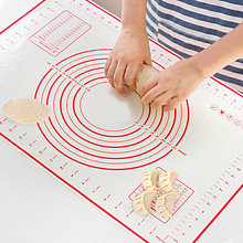 Silicone Pastry Mat Food-grade for Rolling Dough Non-Stick Mats with Measurements Cooking Confectionery tools