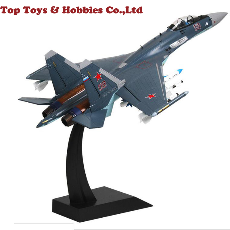 5kg 44cm Kids Toys 1:48 1/48 Su35 Aircraft Fighter Su-35 Russia Airplane Alloy Engine Visibility Toy Air Force Model Collection