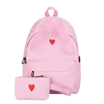 Mochilas para de 2018 mochila escolar mujeres bolso hombro la lona 6TxYwa