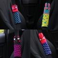 Новая Коробка Стиль Авто Ремень безопасности Плеча Pad Кролик Шаблон 1 шт.