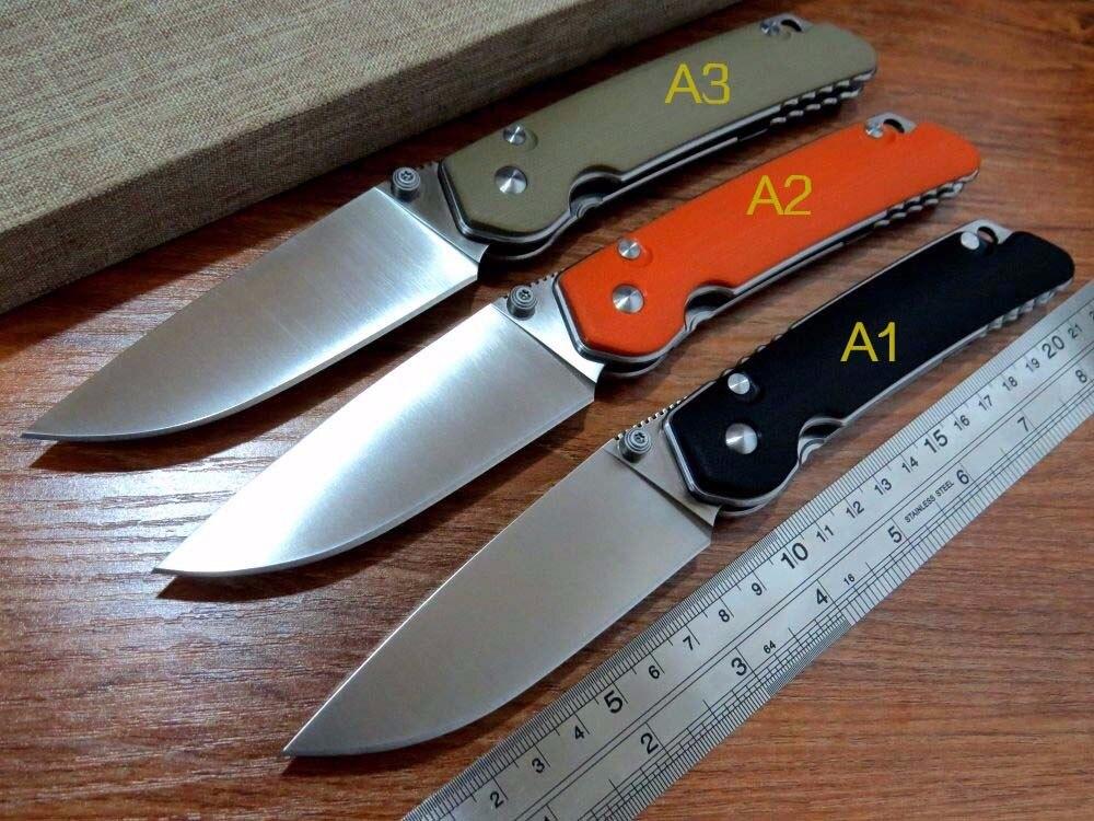 5PCS LOT New sale Efeng E DZ1 Custom D2 Steel Sand Light Surface Folding font b