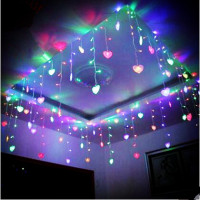 8x0.5m New Year Garland LED Christmas Lights For Wedding Decoration Cristams Cortina De LED Curtain Sting Fiary Lights