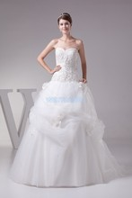 free shipping 2013 greek ball gowns new design fashion hot bridal gown long lace up custom size/color white/ivory wedding dress