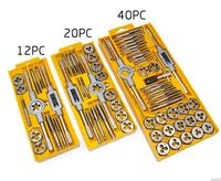 Top Quality Metric Taps Wire Cutting Die Tapping Set High Carbon Steel Vehicle Maintenance Lathe Accessories