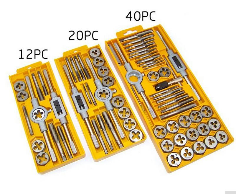 Tools Metric Taps Wire Cutting Die Tapping Set High-carbon Steel Vehicle Maintenance Lathe Accessories