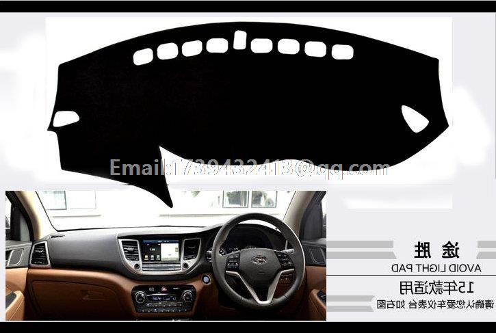 for hyundai ix35 tuscon 2015 2016 2017 dashmats car-styling accessories dashboard cover RHD