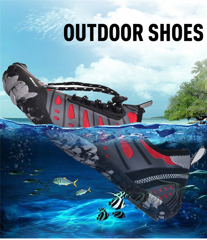 Unisex Swimming shoes Water Shoes Bicycle Seaside Beach Surfing Slippers Skiing Outdoor Five Finger Soft Fitness Light Shoes (1)
