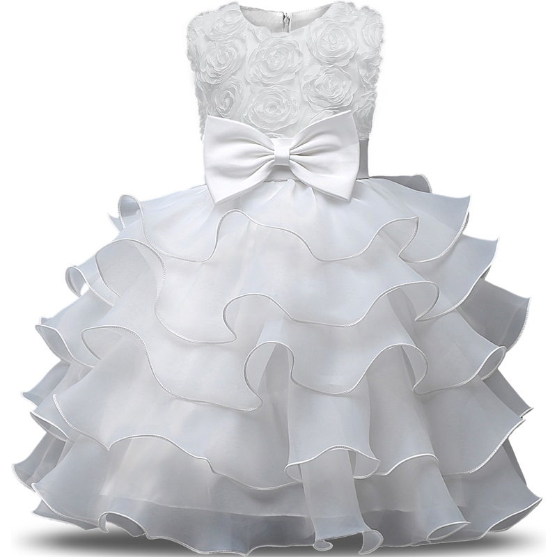 Подробнее о New Baby Girl Formal Wear Dress Children Kids Prom Dresses For Girls Clothes Flower Girl Party Dress Wedding Ball Gown Clothes flower girl dress for wedding party new style halter princess dresses children kids formal clothes girls long trailing gown