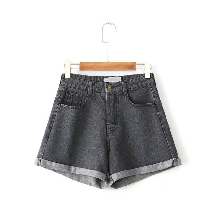 HTB1ZQz8QFXXXXcoaXXXq6xXFXXXr - Women Shorts High Waist Denim JKP117
