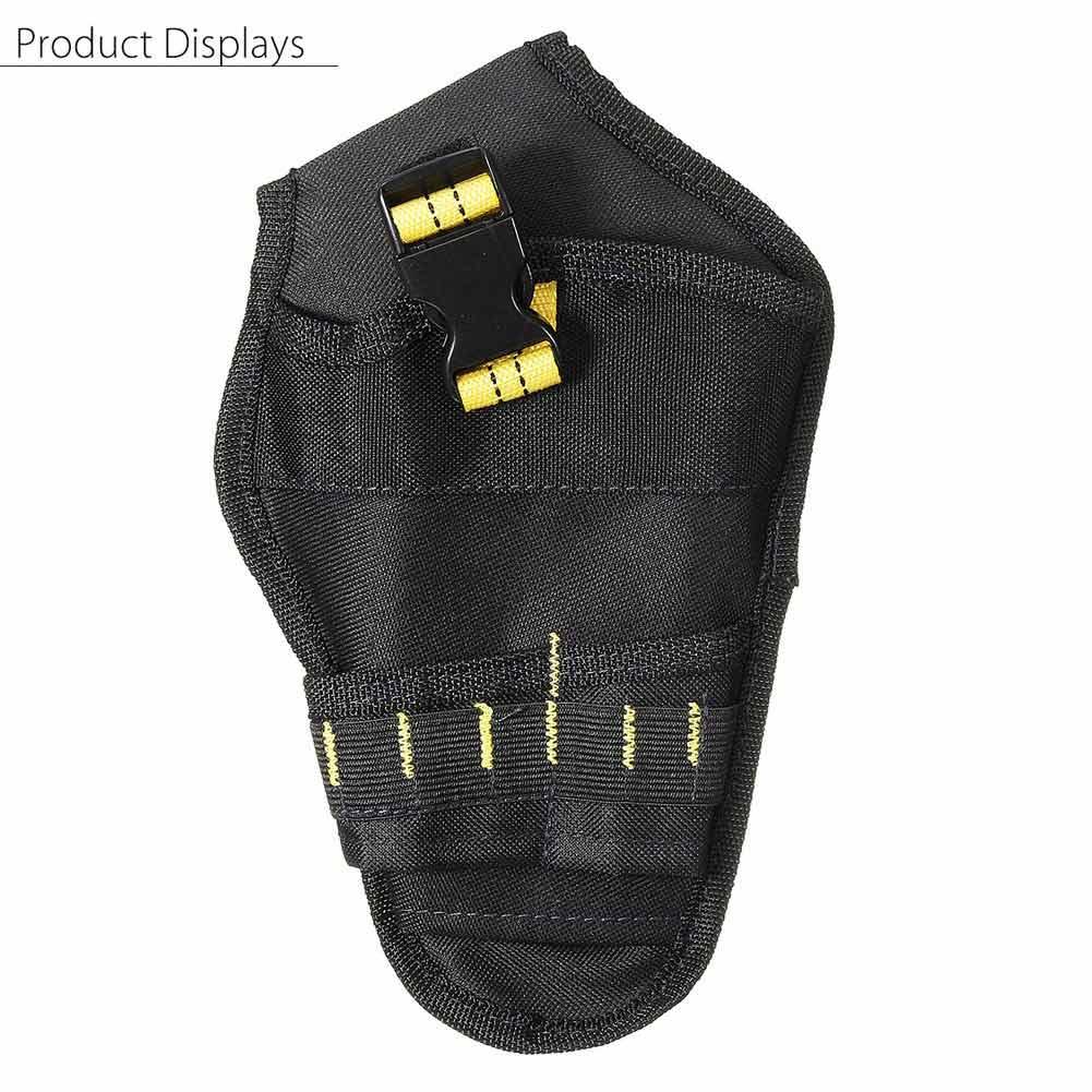 Technics 15 Pocket Toolbelt With Drill Holster Quality Heavy Duty Tool Holder