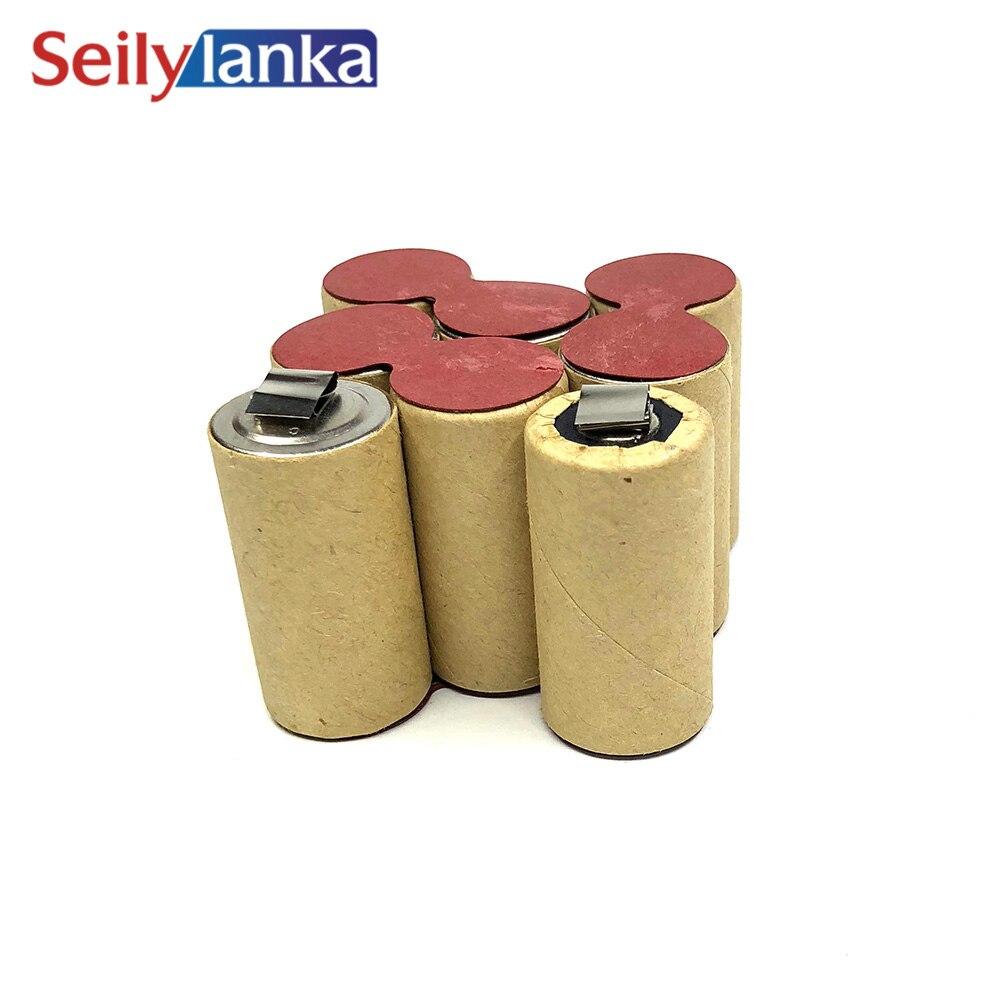 Pack batterie pour l/'auto-installation pour Metabo BST 9,6 BS impulsion 9,6 V 3.0ah Panasonic NiMH