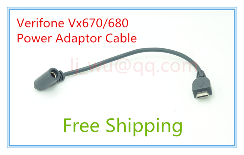 Brand New Original Verifone Vx670 Vx680 10pcs HDMI Power Adaptor Cable verifone vx610 omni 5600