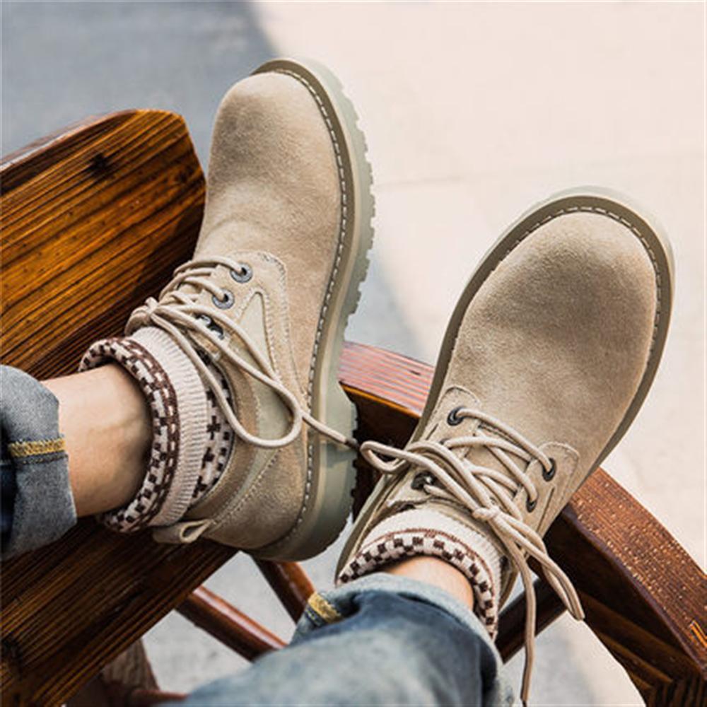 Chaussures Daim Britannique De Printemps Montantes Martin Nouvelles Light En Travail Homme Chaussettes Coffee Outillage Chaud Hommes 2018 Bottes 1UqFxwEE
