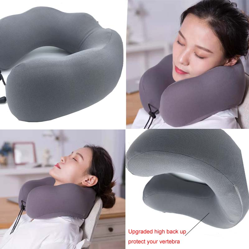 2019 Creative gift Music player U shape pillow neck use for car driving sleeping use in Bluetooth Car Kit from Automobiles Motorcycles