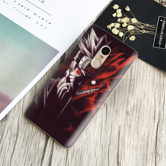 Naruto Phone Case For Xiaomi Redmi Note