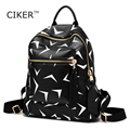 CIKER Fashion Mochila Women PU Leather Backpack School Bags Travel Bookbag Casual Female High Quality ladies backpacks Women Bag
