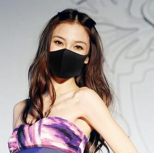 Image 2 - במלאי BYRIVER לשימוש חוזר פה מסכת, רחיץ אבק הוכחת שחור פנים מסכת לנשימה סופר רך אופנה עיצוב