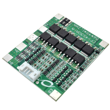 4S 30A 14.8V Li-Ion Lithium 18650 Battery Bms Packs Pcb Protection Board With Balance Integrated Circuits