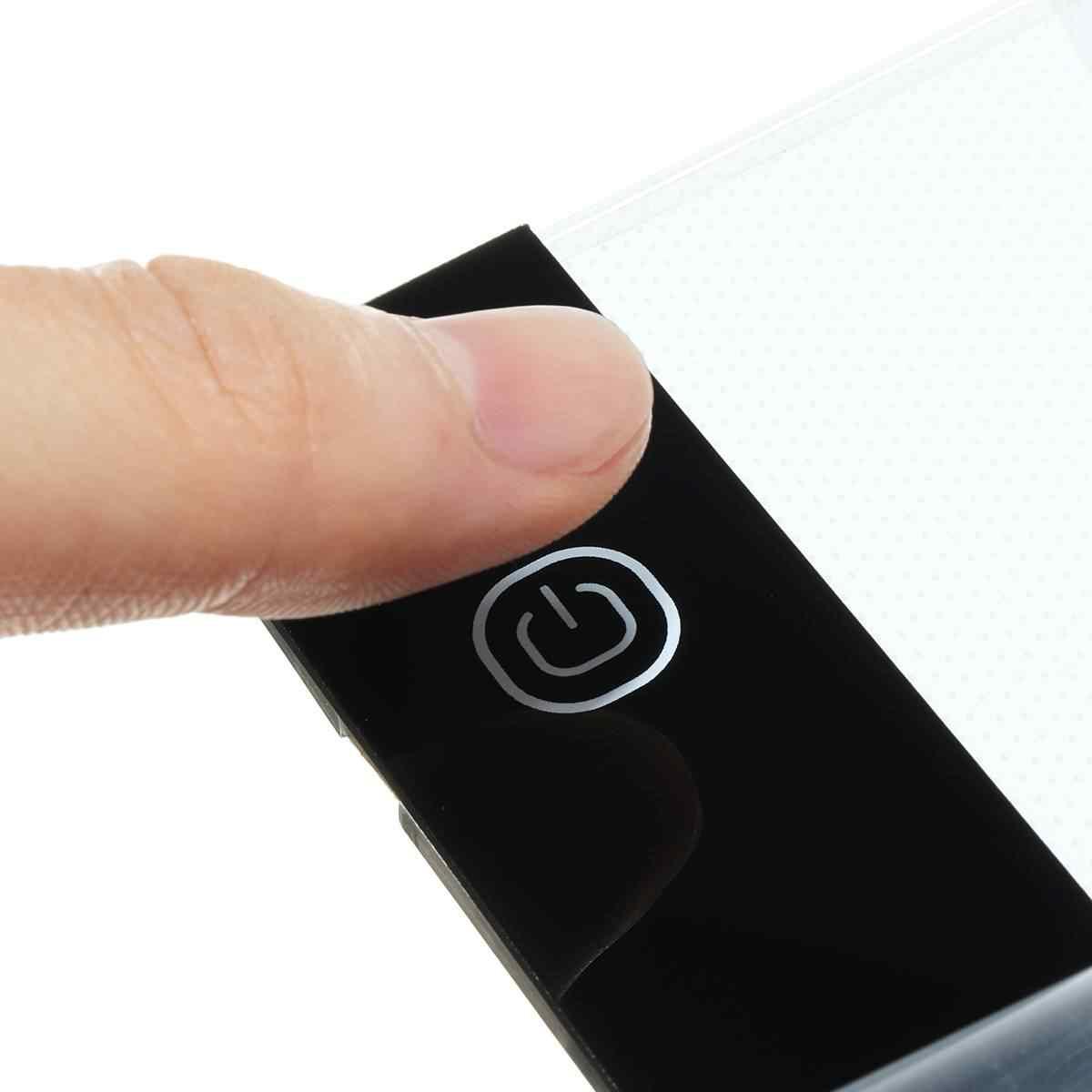A3 Formato Tavoletta Grafica di Scrittura Pittura Scatola di Luce Lampada Da Tavolo USB Operated Anime Disegno LED Tablet Portatile Copia Bordo w /USB Cab