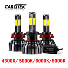 CARLitek 4 Diode font b Lamps b font H7 Led Canbus H4 880 H1 H11 Car
