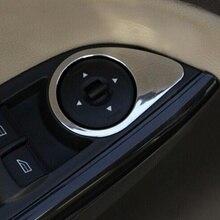 Carmilla автомобильный стеклоподъемник из нержавеющей стали, отделка ABS, кнопки для стеклоподъемника, наклейки для Ford Focus 3 MK3 4 MK4 2012