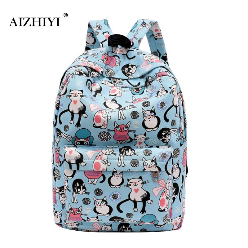 Cartoon Cute Designer Unisex Canvas Backpack Students School Bag for Teenage Girls Boys Backpacks Travel Rucksack Street Escolar anime noragami aragoto yato backpack for teenage girls boys cartoon yukine children school bags casul book bag travel backpacks