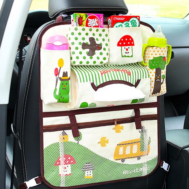 Viciviya Seat Storage Bag Waterproof Universal Baby Stroller Bag Organizer Baby Car Hanging Basket Storage Diaper Bag$