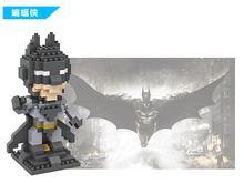 2016 Hot Sale Early Learning Batman Children's educational building blocks educational Toys Plastic fight inserted toys