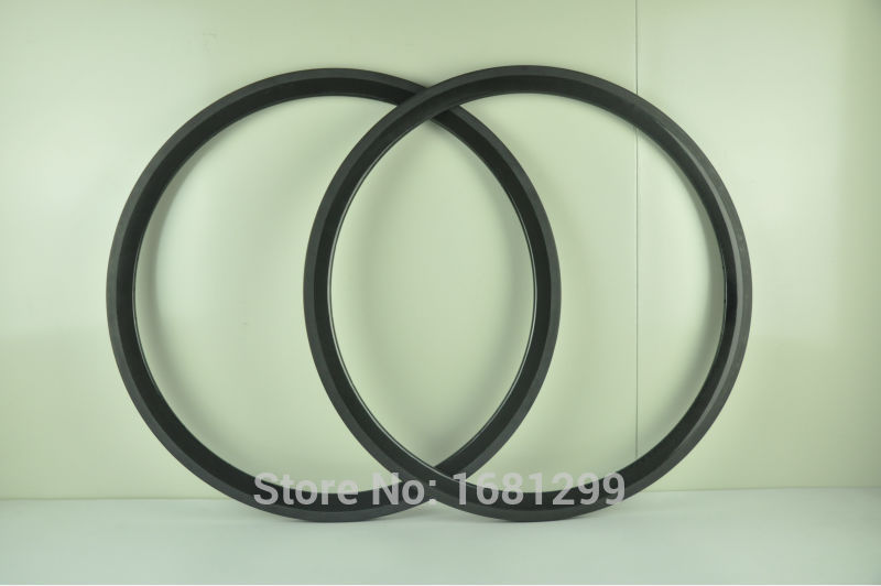 2Pcs New lightest 700C 38mm tubular rim Road bicycle 3K UD 12K full carbon fibre bike wheels rims 360g Free shipping