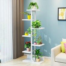 Многослойное внутреннее украшение, напольное пространство, мясистый цветочный горшок, полка для цветов, гостиная, зеленый бар, растения на балконе, горшок