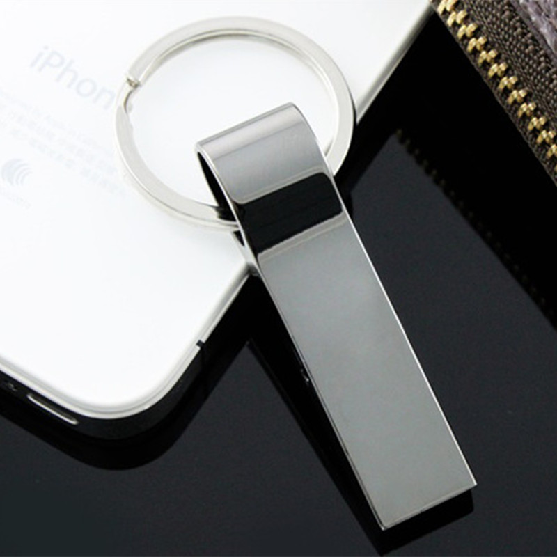 Metal 16GB 32GB 64GB 128GB USB Flash Pen Drive Storage Memory Disk Simple Style for Computer PC Tablet Free Shipping