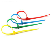 4*100pcs Self-locking Nylon Cable Tie Car Motorcycle  Colorful Cable Zip Tie LooP Autoblocantes  цена и фото