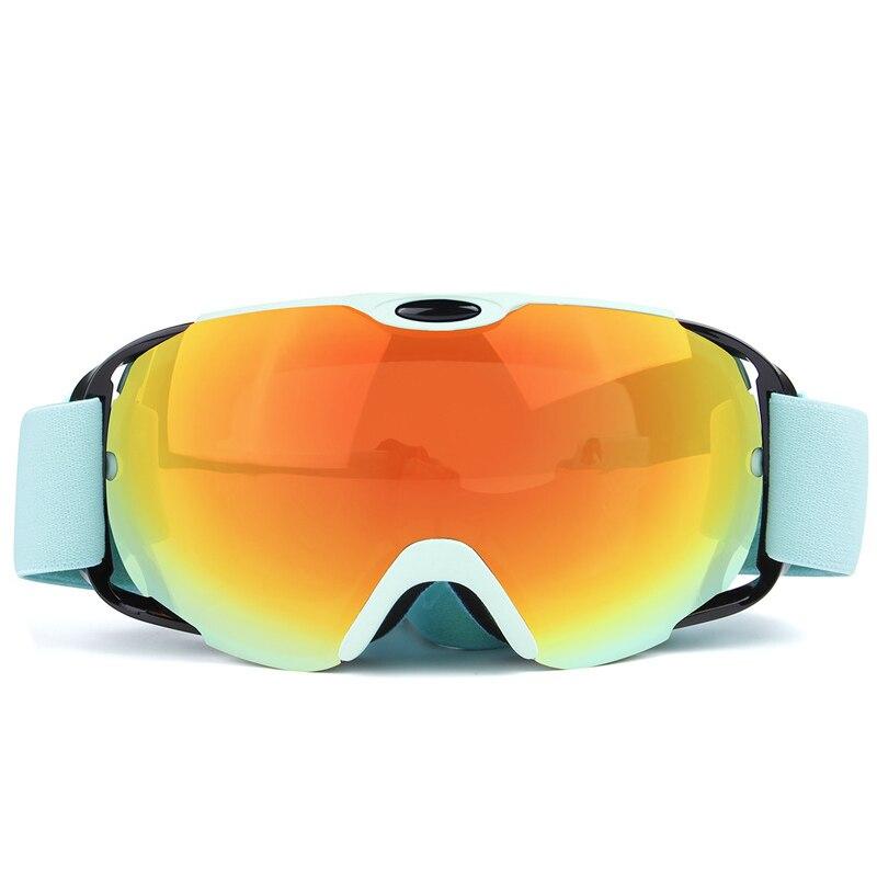 Prix pour Pleine Vue Lunettes Lunettes de Ski Snowboard Ski Anti Brouillard Coupe-Vent UV Protection Skieur Snowboard Motoneige Équitation Lunettes
