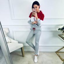 1 set Leisure Women Sports Suit Comfortable Winter and Autumn Streetwear Outfits Fashion Tracksuit Sportswear
