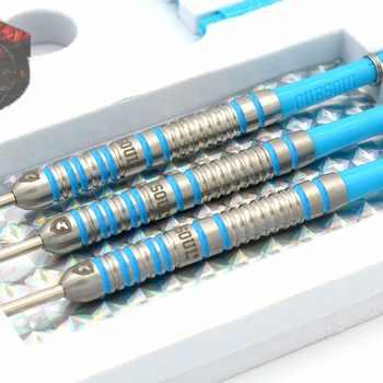 CUESOUL CHALLENGE 85% 22g/24g/26g Steel Tip Tungsten Dart Set With Blue Dart Shaft