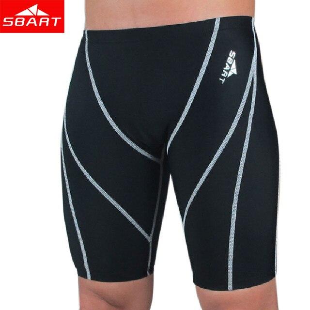 acc5626ea347f SBART Men Professional Swimming Briefs Sharkskin Underwear Trunks Swimwear  Plus Size 4XL Bathing Suit Mens Swimsuit Beachwear L
