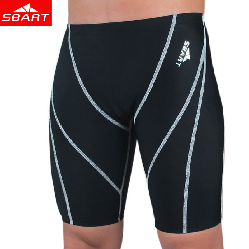 Sbart hombres profesional de natación calzoncillos ropa interior de piel de tibu