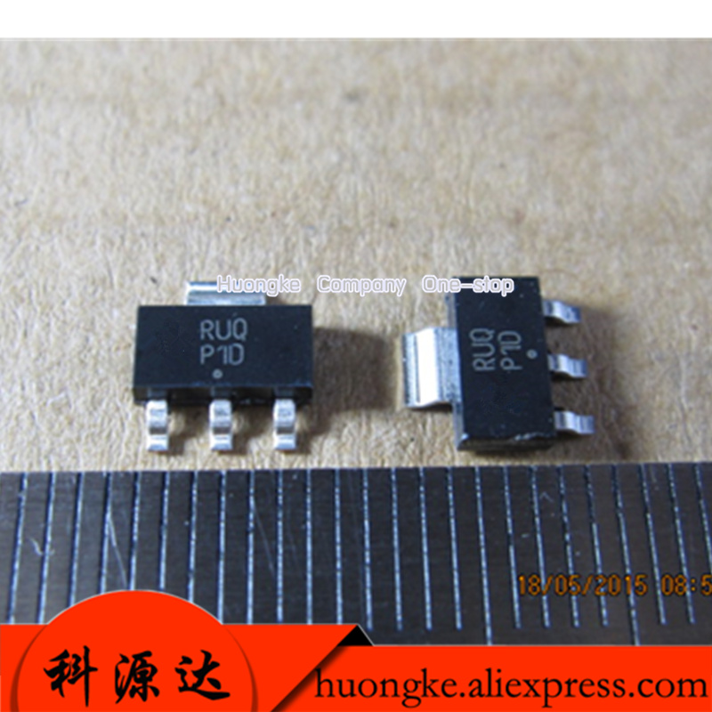20pcs/LOT  PZTA42T1G Mark CZTA42 ZTA42 P1D  SOT223-3 High Voltage Transistor Surface Mount