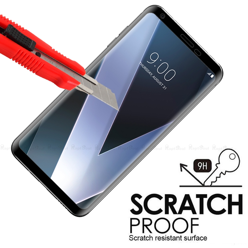 Image 3 - 3D Curved Edge Toughened Full Cover Tempered Glass For LG V30 V30S V35 V40 V50 G8 G7 Plus ThinQ Screen Protector Protective Film-in Phone Screen Protectors from Cellphones & Telecommunications