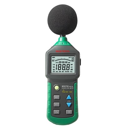 MASTECH MS6700 Industrial Grade LCD Digital Display Digital Sound Level Meter Noise Meter DB Meter Automatic Range 30dB ~ 130dB nokia 6700 classic illuvial